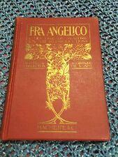 *RARE* 1911 Ed. Fra Angelico Da Fiesole Hachette Library Paris Hardcover Book