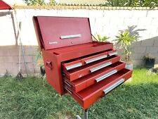 Kennedy Kits Model 260 Red Tool Box Chest Machinist Cabinet 6 Drawer56 Lbs