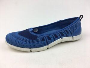 ECCO Women's Intrinsic Karma Ballet Shoes Size EUR 42, Cobalt 479