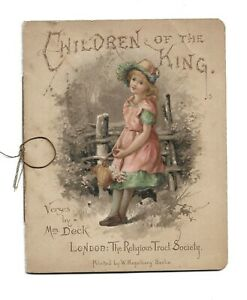 Children of the King Amy Catherine Deck Walton Mrs Deck Religious Tract Society.