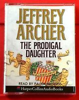 Jeffrey Archer The Prodigal Daughter 2-Tape Audio Paula Prentiss Political
