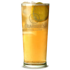 1  x Crabbie's Alcoholic Ginger Beer Pint Glasses CE 20oz / 568ml
