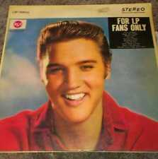 "Elvis ""For LP Fans Only"" (Record) by RCA Records LP"