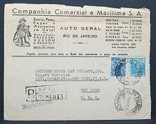 Brasil Companhia Maritima Auto Geral Packard Motor Car Division NY USA (Lot 7315
