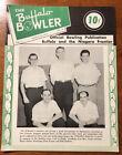 Vintage Bowling Magazine 1955 Buffalo Bowler Volume 1 No 10 O'Keefe's Beer