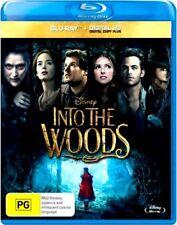 Disney INTO THE WOODS New Blu-Ray + HD Copy MERYL STREEP ***