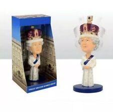 QUEEN Majesty Elizabeth II Royal Baby Commemorative Bobble Head Figure Ornament