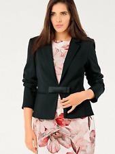Ashley Brooke Designer Black Size 16 BLAZER Jacket Smart Occasion Evening £129