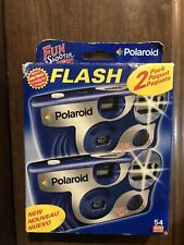 Polaroid Fun Shooter Flash Disposable Film Cameras 2 Pack 400 Sealed