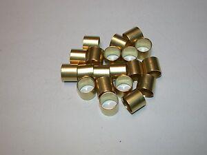 """20 1.1/4"""" Wide x 3/4"""" Long Brass Ferrule, for Chisel Handle, Made in Sheffield"""