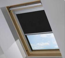 Blackout skylight roof blinds for Velux, Keylite, Fakro, Dakstra, windows BLACK