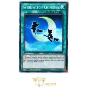 YuGiOh! | Windwitch Chimes | BLVO-EN059 | Super Rare | 1st Ed