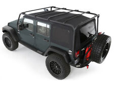 Galerie acier noir Overhead Rack Jeep Wrangler JK Unlimited (4 portes)