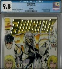 BRIGADE GOLD #1 CGC 9.8 WHITE, 1992 first 1st appearance, LIMITED GOLD