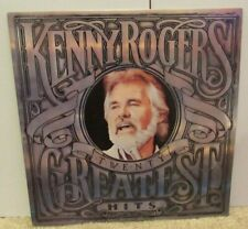 KENNY ROGERS - 20 Greatest Hits Vintage 33 RPM Record, Liberty Records