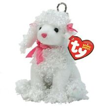 Ty Beanie Babies 40671 Poochie Poo The Poodle Key Clip