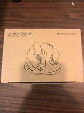 J-Tech Digital Scroll Endurance Wireless Mouse Ergonomic Vertical USB Mouse w...