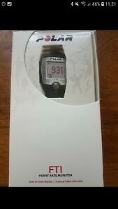 Polar fitness watch FT1 with chest strap