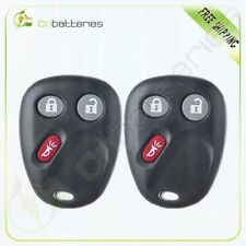 2 Replacement Keyless Entry Remote Car Key Fob Control For Chevrolet MYT3X6898B