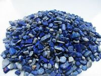 LAPIS LAZULI Afghanistan 7-12mm Tumbled chips 1/2 lb bulk stones
