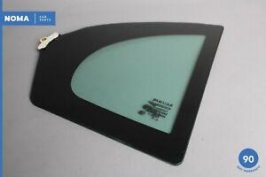 09-14 Jaguar X250 XF XFR Rear Left Driver Side Quarter Corner Window Glass OEM