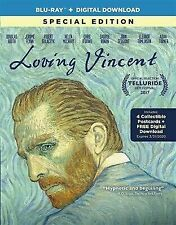 LOVING VINCENT-Blu-Ray+Digital Download-4 cards-Amazing Oil Painting Animation