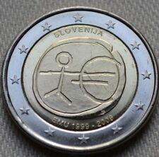 manueduc  2 EUROS  ESLOVENIA 2009  Conmemorativa 10 Años DEL EURO UEM