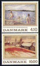 Briefmarken mit Kunst Thema aus Dänemark