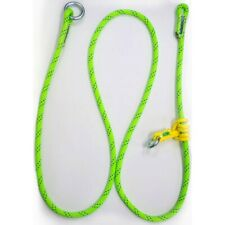 Rope Logic'S Adjustable Friction Saver 5/8In 10Ft Kmiii Green Arborist Rigging