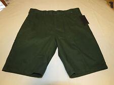 Men's Hurley 34 walk casual shorts O&O Chino short surf skate MWS0001970 green