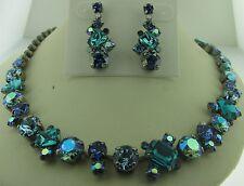 Sorrelli Electric Blue Necklace Earrings Set NCF6ASEB  ECF6ASEB
