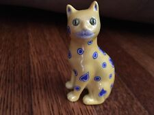 "Franklin Mint Curio Cabinet Cat Collection Figurines ""Galle"" With booklet Rare!"