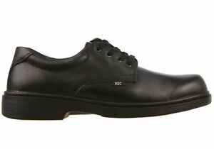 ROC Strobe Senior Lace Up Comfortable Leather School Shoes