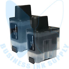 2 BLACK LC41 HIGH YIELD LC41BK Ink Cartridge Compatible for BROTHER Printer