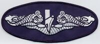 Silver Dolphins - Large - Submarine- BC Patch - b828