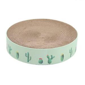 Corrugated Cardboard Cat Catnip Scratcher Board Nail Scraper Mat Kitten Bed Toy
