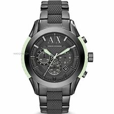 ARMANI EXCHANGE MEN'S CHRONOGRAPH GLOW IN THE DARK WATCH AX1385