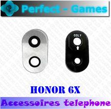 Huawei Honor 6X lentille vitre cache camera arrière back glass lens cover