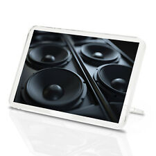 Awesome Speakers Classic Fridge Magnet - Music DJ Sound System Fun Gift #14351