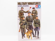 LOT 30314 Tamiya 35320 German Field Military Miniatures 1:35 Bausatz NEU in OVP