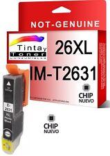 Tinta compatible non-oem 26 XL T2631 FOTO PARA EPSON XP610 XP615 XP710 XP810
