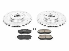 For 2007-2015 Ford Edge Brake Pad and Rotor Kit Front Power Stop 93762FJ 2010