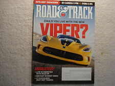 Road & Track 2013 April Viper 911 Porsche vs Lotus S IPS Meserati Mercedes G63