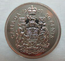 1970 CANADA 50 CENTS PROOF-LIKE COIN - A