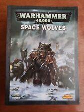 Warhammer 40K Codex Space Wolves: Ragnar Blackmane & Ulrik the Slayer Stats
