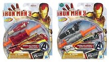 New NERF Iron Man 3 IRON FLYERS Iron Man ~ Launches Up To 15 Feet x2