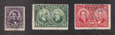 Canada - 1927 - SC 146-48 - Used - Complete set