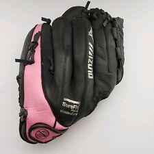 "Mizuno 11"" Youth Softball Glove Black Pink Fast Pitch Model GPP 1105 RHT"