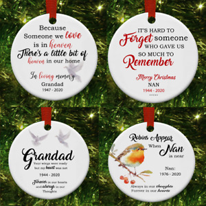 MDF Christmas Tree Decs , IN MEMORY OF A LOVED ONE , CELEBRATE THEM AT CHRISTMAS