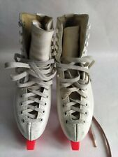 Patins A Glace Risport Star Blancs Taille 38  avec protège Lames made in Italie